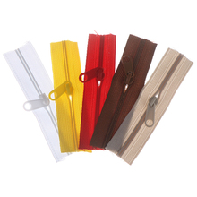 10Pcs Mini Zipper Doll Dress Zipper 10cm Handmade Craft Sewing DIY Accessories Scrapbooking Garment Applique