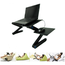 Portable foldable adjustable folding table for Laptop Desk Computer notebook Stand Tray For Sofa Bed Laptop stand fashion style folding laptop table stand desk portable bed sofa tray notebook computer desk lapdesk picnic table 58 35cm se22