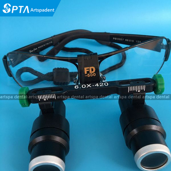 High Quality 2.5X 3.5X 4X 5X 6X Binocular Headwear Medical magnifying glass Surgical loupes Dental Loupes medical loupes