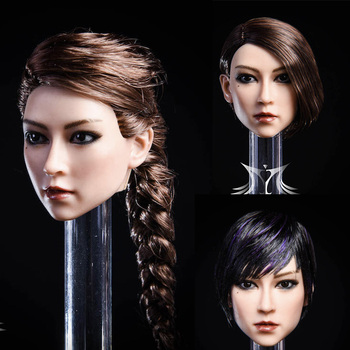 YMT020 1/6 Asian Beauty YA Head Sculpt for 12''Action Figure DIY цена 2017