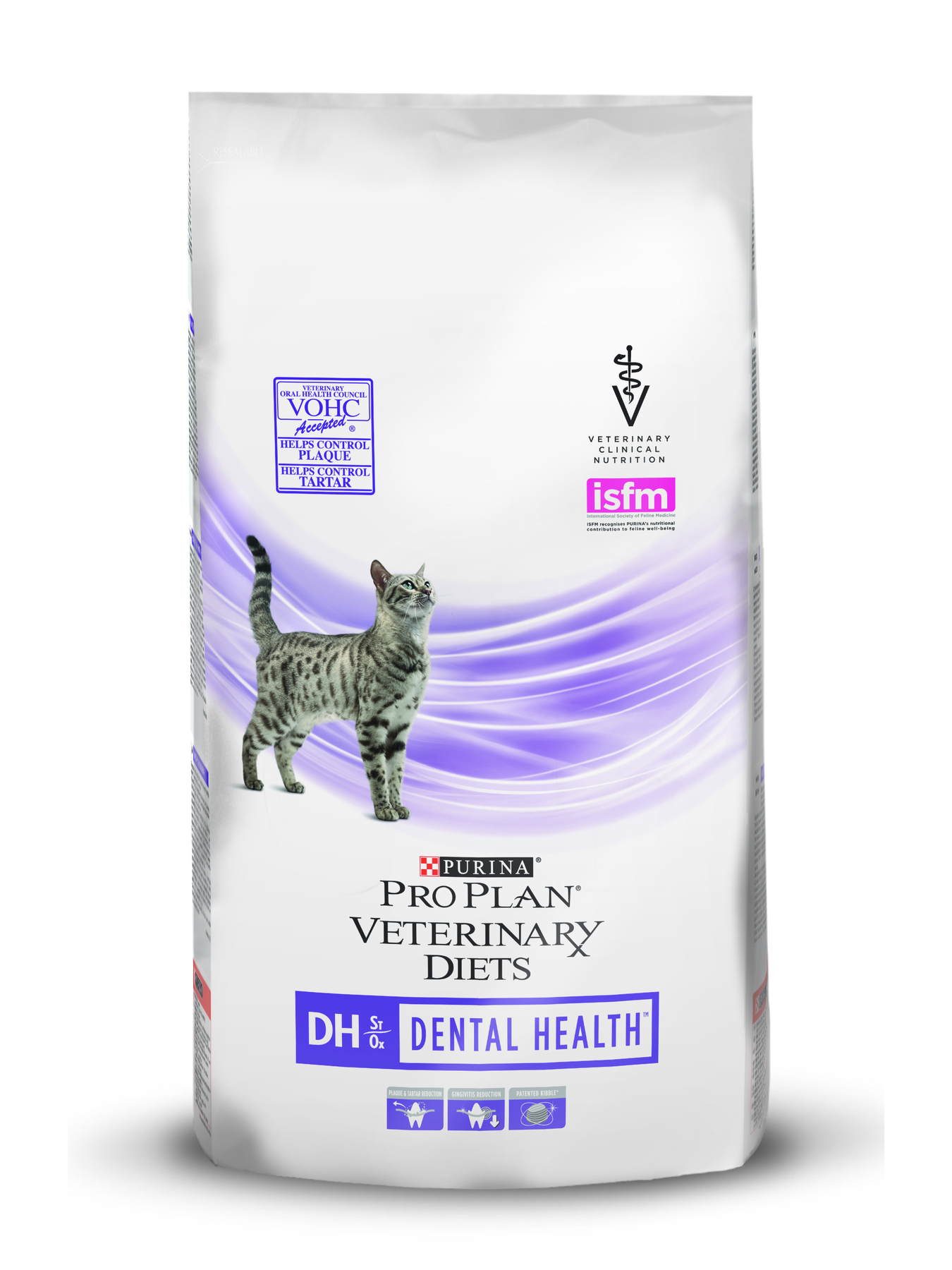 Pro Plan Veterinary Diets DH Dental food for cats with diseases of the oral cavity, 1 kg image