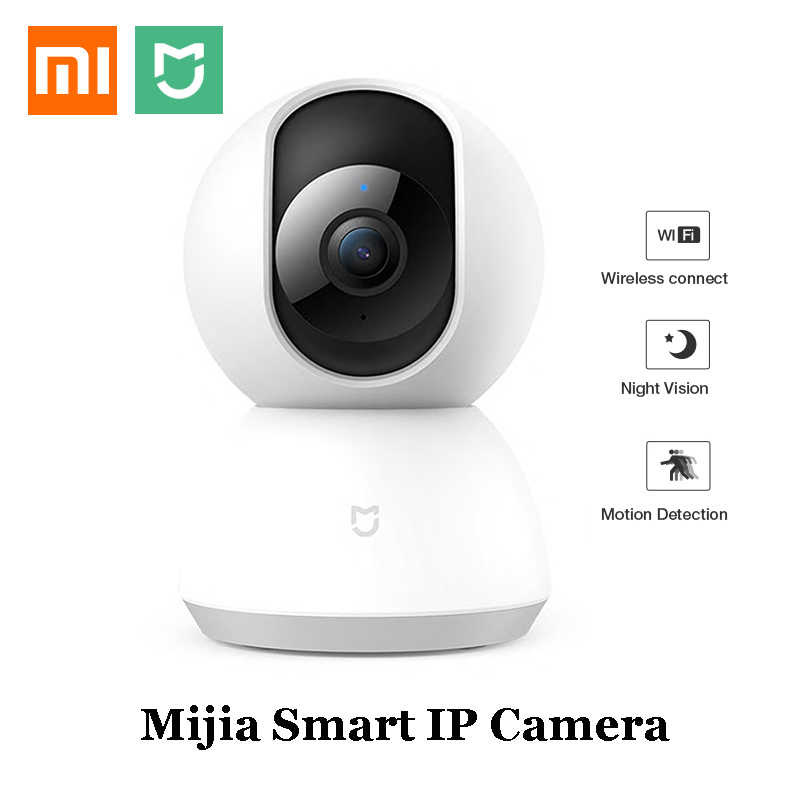 Xiaomi Mijia Smart Camera IP Webcam WiFi Pan-Tilt Malam Visi 360 Sudut Video Cam View Bayi Monitor Rumah kamera Keamanan