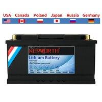 Batteria al litio 12V 100Ah LiFePO4 batterie al litio BMS 3000 cicli per camper camper Golf Cart Off-Road Off-Grid vento solare