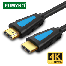 HDMI-Compatible Cable 4K 1080p 2.0 1.4 Aux Cable For PS4 Apple TV PC Splitter Switch Box Extender Projector Monitor 60Hz Video