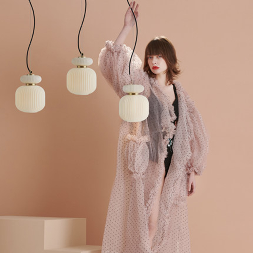 Modern LED Pendant Lamp Light Luxury Glass Bar Small Pendant Lights Lighting Nordic Living Room Lamp Bedroom Decor Light Fixture