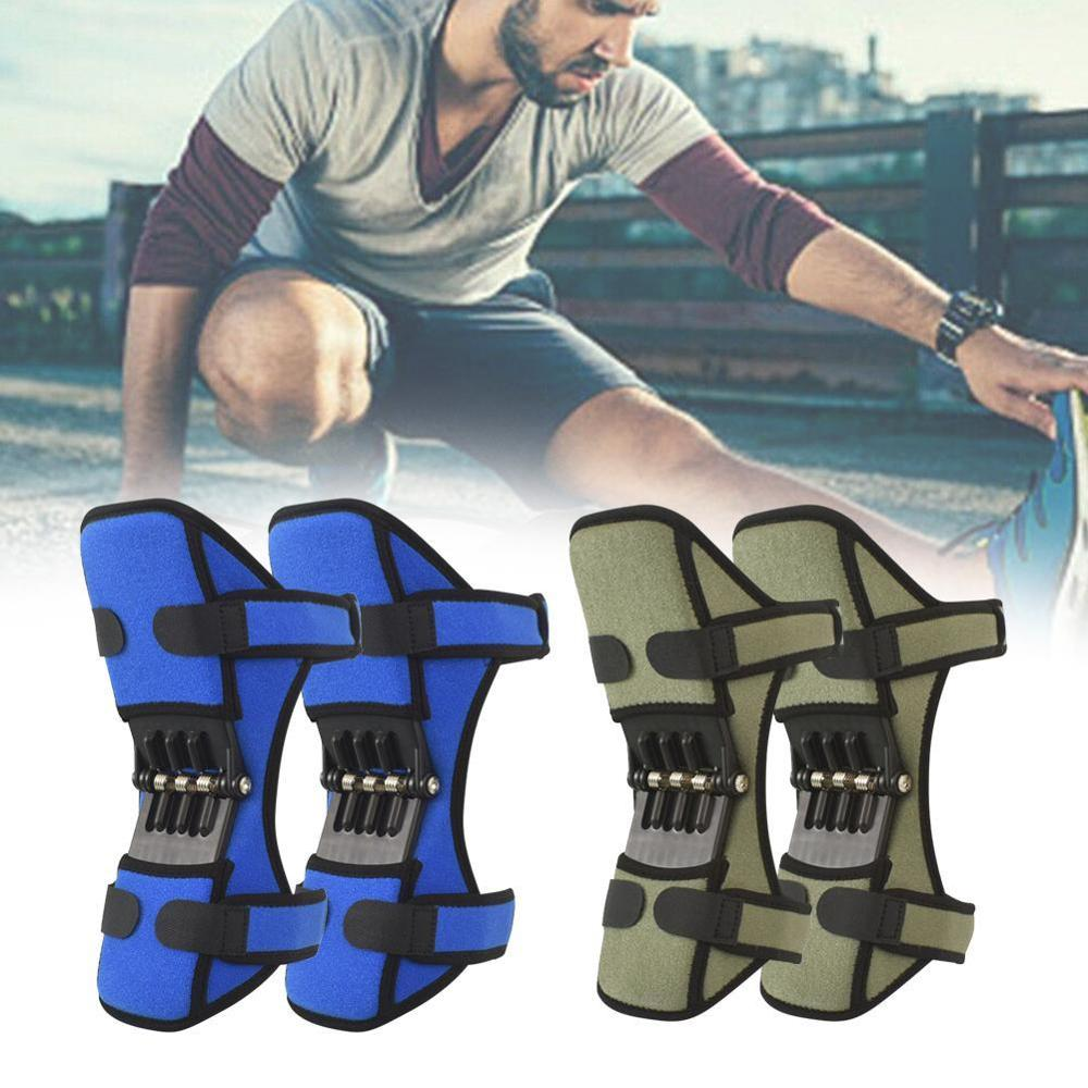 PowerLift Joint Support Knee Pads Powerful Rebound Spring Force Knee Support Professional Protective Sports Knee Pad