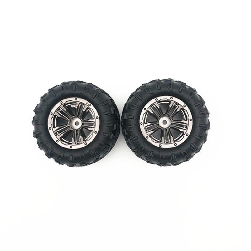 XLH 9130 2Pcs RC Racing Car Tire 30 ZJ02 With Wheel Rim Fit For RC Car Sapre Parts|Parts & Accessories|   - AliExpress