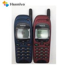 Nokia 6150 Verwendet (70% Neue) original Entsperrt Nokia 6150 Handy Sammeln handy 600 mah Ein Jahr Garantie Renoviert