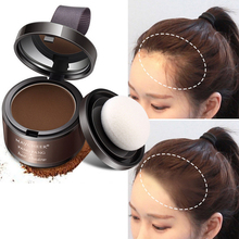 4 Color Hair Fluffy Powder Instantly Black Root Cover Up Natural Instant Hair Line Shadow Powder Hair Concealer Coverage
