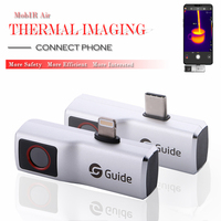 MobIR Air Thermal Imaging Camera, Anti-peep Temperature Detection Thermal Imager Camcorder for Smartphone Type-C Android / IOS