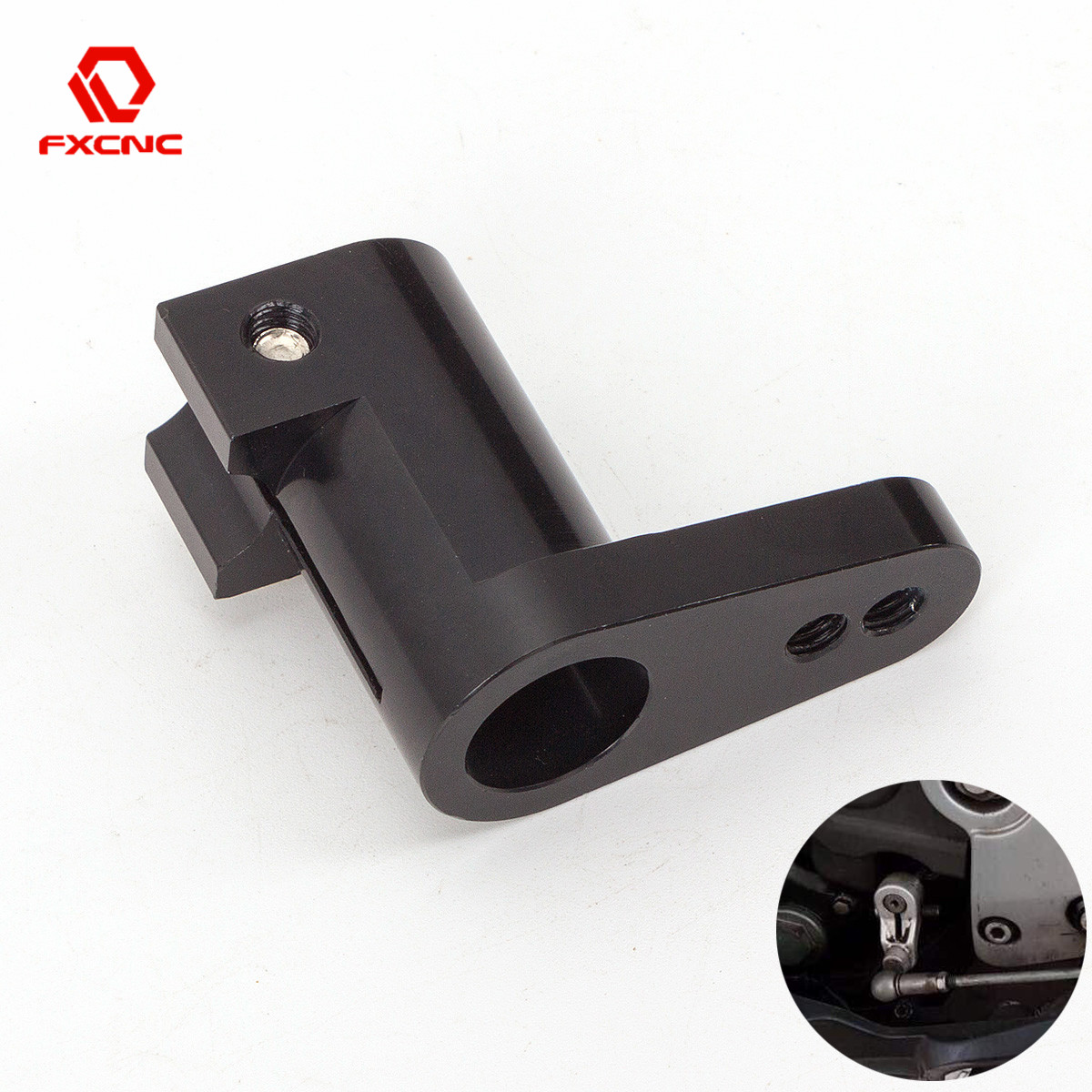 Motorcycle Foot Peg <font><b>Rearset</b></font> Gear Shift Shifter Arm Rod Adapter For Honda CBR300RR CBR600RR CBR1000RR GROM <font><b>MSX125</b></font> NSF 100 NSR50 image