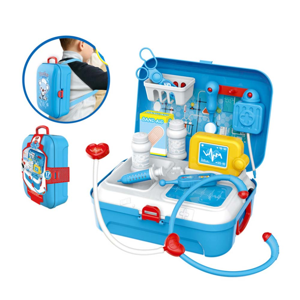 Gift Kids Children/' Doctor Nurses Toy Medical Set Role Play  Kit Hard Carry Case