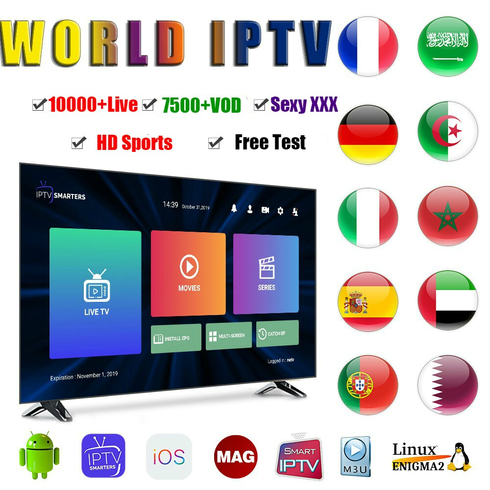 IPTV Code M3U Subscription Supports Android TV Box Smart TV Mag Box IPTV Code In Europe Germany UK Canada USA Spain Italy