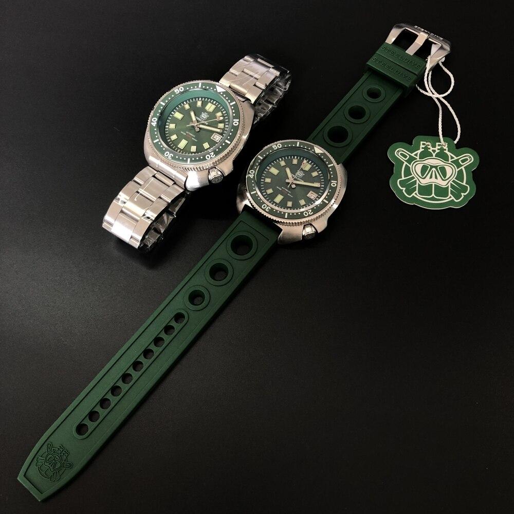 H11024551ecc742e689afc908768fa58e0 SD1970 Steeldive Brand 44MM Men NH35 Dive Watch with Ceramic Bezel