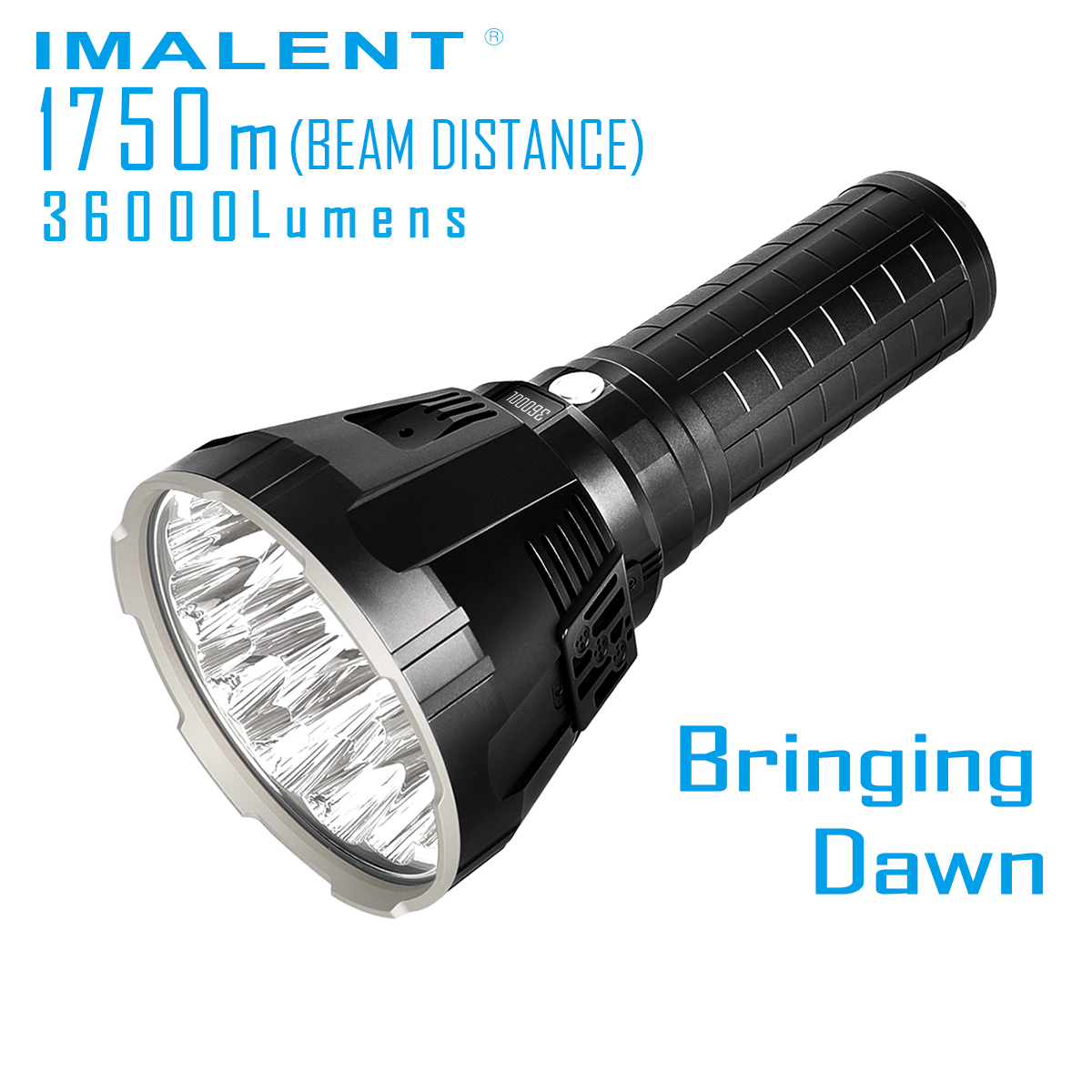 Handheld Flashlight Imalent R90ts XHP35 Battery-Pack Beam Distance Lumens Hi-Max CREE