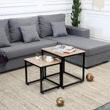 Coffee-Table Table-Side Living-Room-Furniture Bedroom Round Small Sofa HWC Light Luxury