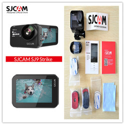 Original SJCAM SJ9 Strike Gyro/EIS Supersmooth 4K 60FPS WiFi Remote Action Camera Ambarella Chip Wireless  Waterproof DV