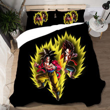 3D King Size Dragon Ball Home Textiles Bed Linen Set High Quality Duvets And Linen Sets Bedding Set Bed Linen Cotton Bed Linen bed linen markiza 100% cotton beautiful bedding set from russia excellent quality produced by the company ecotex