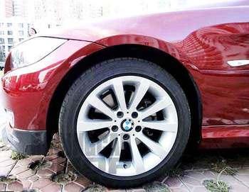 PERFORMANCE REAL CARBON FIBER FRONT LIP SPLITTER FOR BMW E90 LCI 2009-2011 B066 1