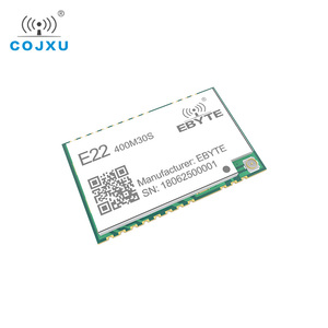 Image 4 - LORAWAN SX1268 LoRa TCXO 433MHz ebyte E22 400M30S Wireless Transceiver  SMD 30dBm IPEX Stamp Hole  Long Range rf Module 433 Mhz