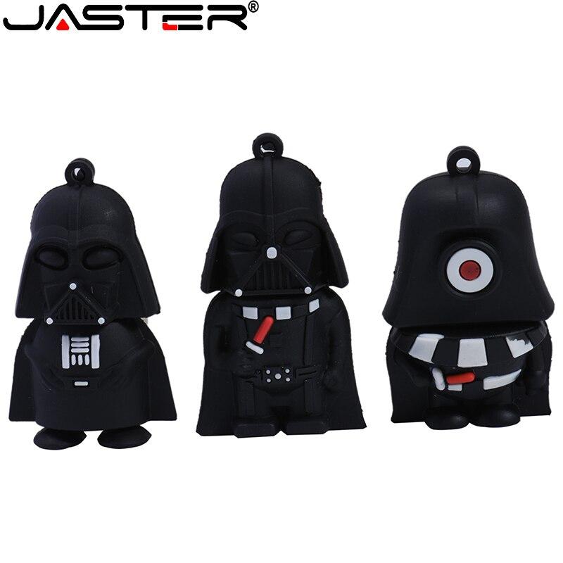 JASTER Star Wars Usb Flash Drive Pen Drive USB 2.0 128GB 64GB 32GB 16GB 8GB 4GB Flash Stick Memory High Speed Cartoon Pendrive