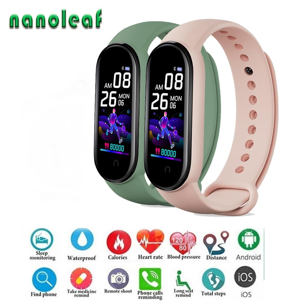 M5 Смарт часы 2020 Спорт фитнес трекер мужские наручные часы монитор сердечного ритма монитор здоровья цифровые часы для IOS и Android|Цифровые часы|   | АлиЭкспресс