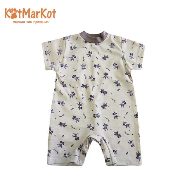 Комбинезон КотМарКот 5794, комбинезон для новорожденного кота, sotmarkets, Песочник, детская одежда, комбинезон, хлопковый Кот, sotmarket, унисекс, животное