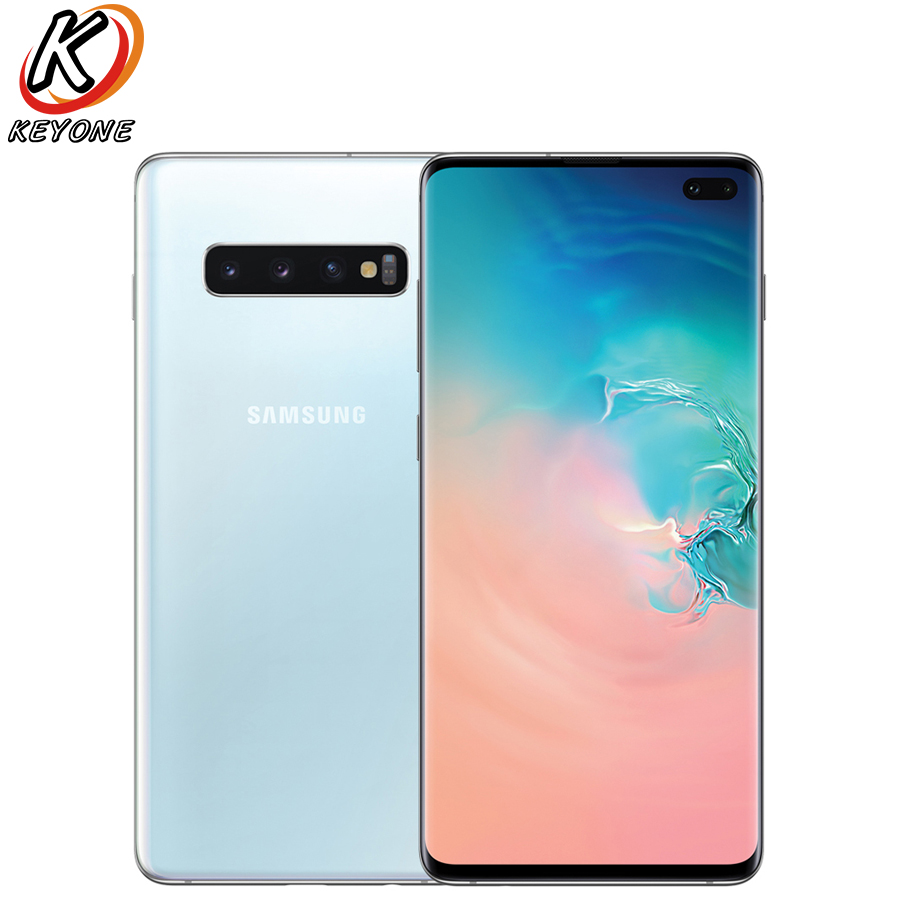 Samsung Galaxy S10+ G975U Sprint Version Mobile Phone 6.4 8GB RAM 128GB ROM Snapdragon 855 Triple Rear Camera S10 plus Phone image