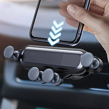 GKYUSHU Car Universal Mobile Phone Holder Vent for Huawei Samsung Xiaomi Apple Smartphone GPS Mobile Phone Holder