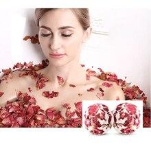 Молочко успокаивающее Лепестки розы Душ Эфирное средство для ухода за кожей высушенный цветок отшелушивающая соль массаж глубокий Чистый подарок для ванны шар ароматный