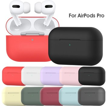 Soft Silicone Cases For Apple Airpods 1/2 /3 Protective Case Bluetooth Wireless Earphone Cover For Airpods Pro Charging Box Bags image