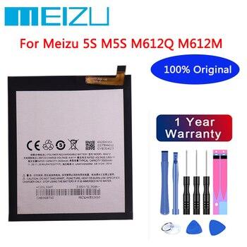 Meizu 100% Original 3000mAh BA612 Battery For Meizu Meizy Mei zu M 5S M5S M612Q M612M Mobile Phone Batteries+Free tools meizu 100% original bt42c bt61 ba612 bu10 bu15 battery for meizu m2 m3 note l681 5s m5s u10 u20 mobile phone tracking number