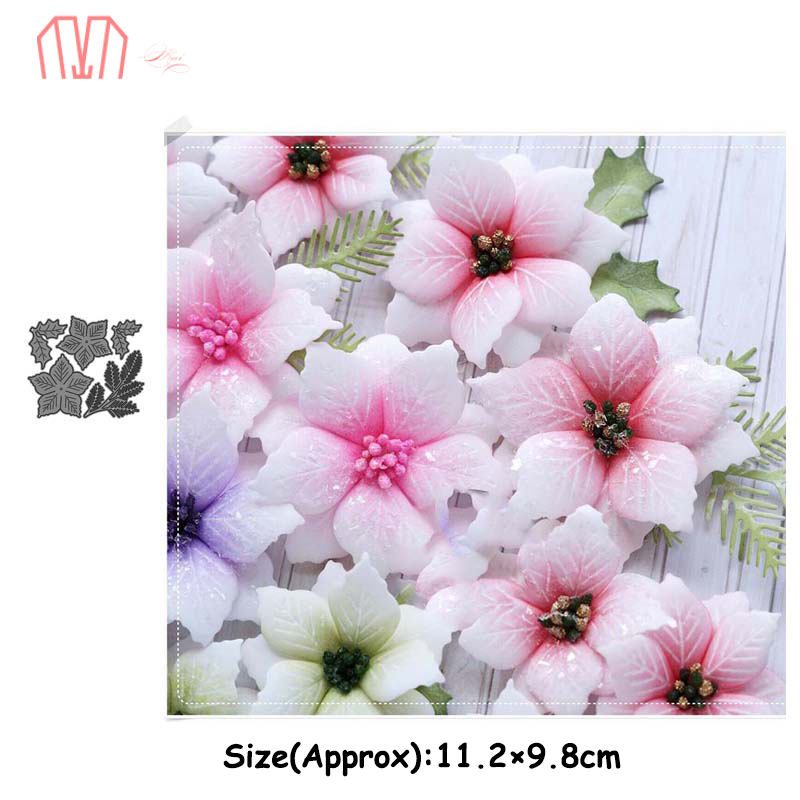 Mai Composition Of A Flower Metal Cutting Dies Stencils For DIY Scrapbooking Photo Album Decorative Embossing DIY Paper Cards