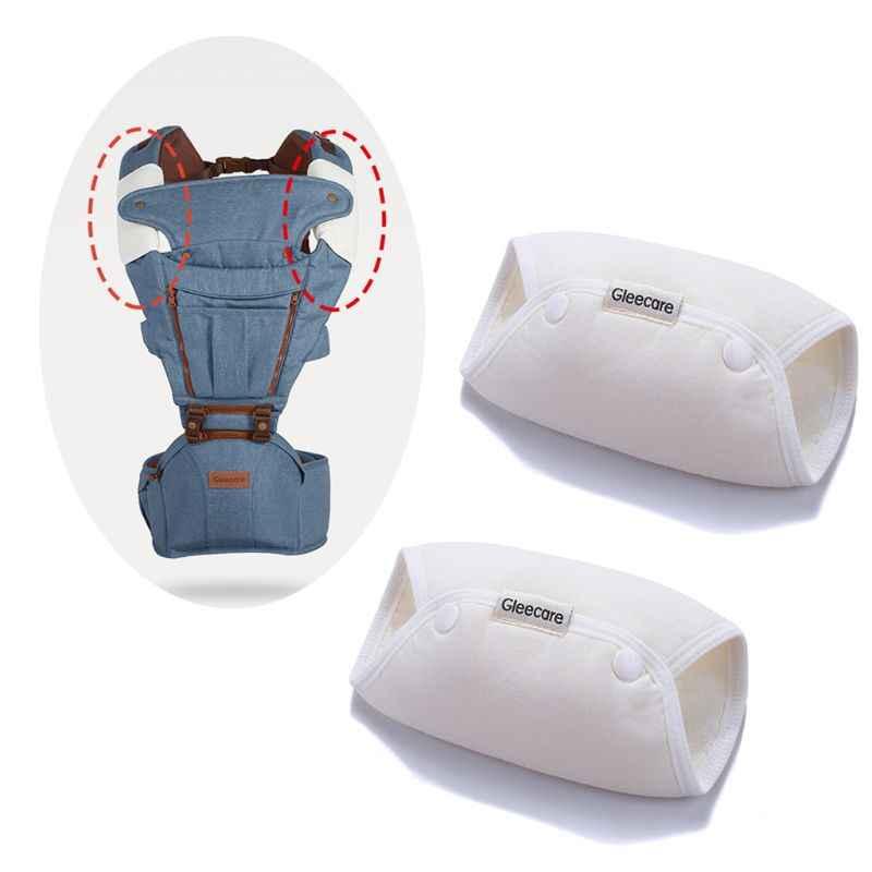 1 paire porte-bébé salive serviette nouveau-né poussette bandoulière coussinet spécial accessoires taille tabouret aspiration serviettes