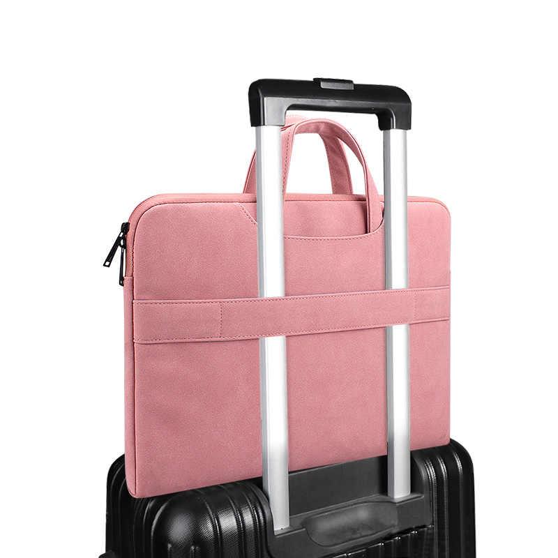 Protetor do portátil caso para macbook ar pro 13 16 saco caso portátil 14 15.6 polegadas para xiaomi ar 13 huawei matebook d14 caso