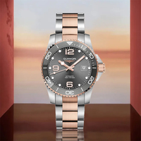 GUANQIN-Reloj de buceo deportivo de lujo NH35A para hombre, reloj mecánico automático, de acero inoxidable, zafiro, calendario luminoso
