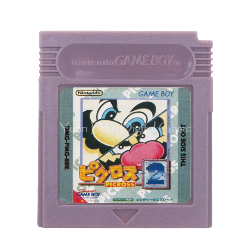 For Nintendo GBC Video <font><b>Game</b></font> Cartridge Console Card Mari Picross 2 English Language Version image