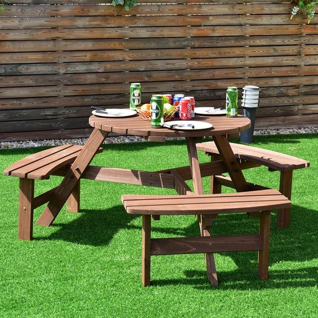Picnic Table Bench Set   5