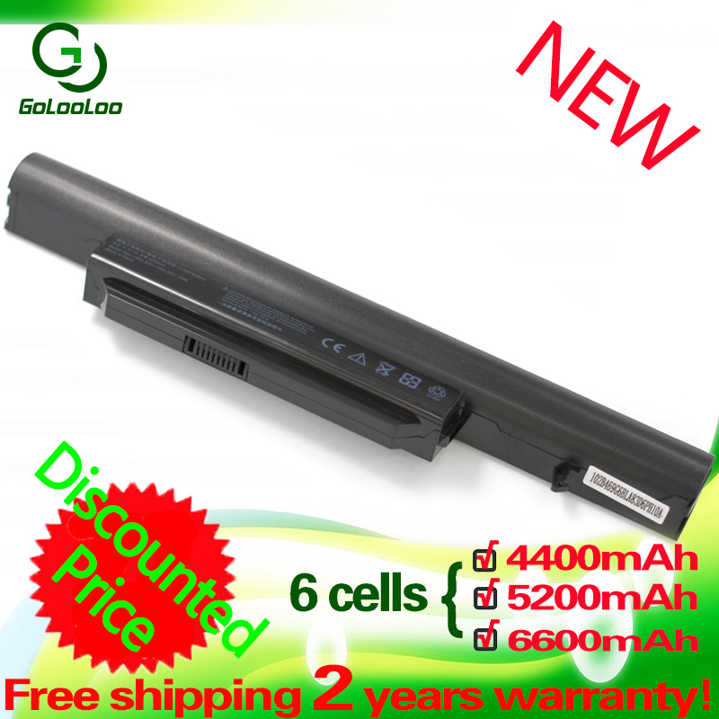 Golooloo Laptop Battery For Hasee SQU-1002 SQU-1003 SQU-1008 K580 PA560P R410 CQB913 CQB916 CQB912 K580S CQB917 R410G R410U