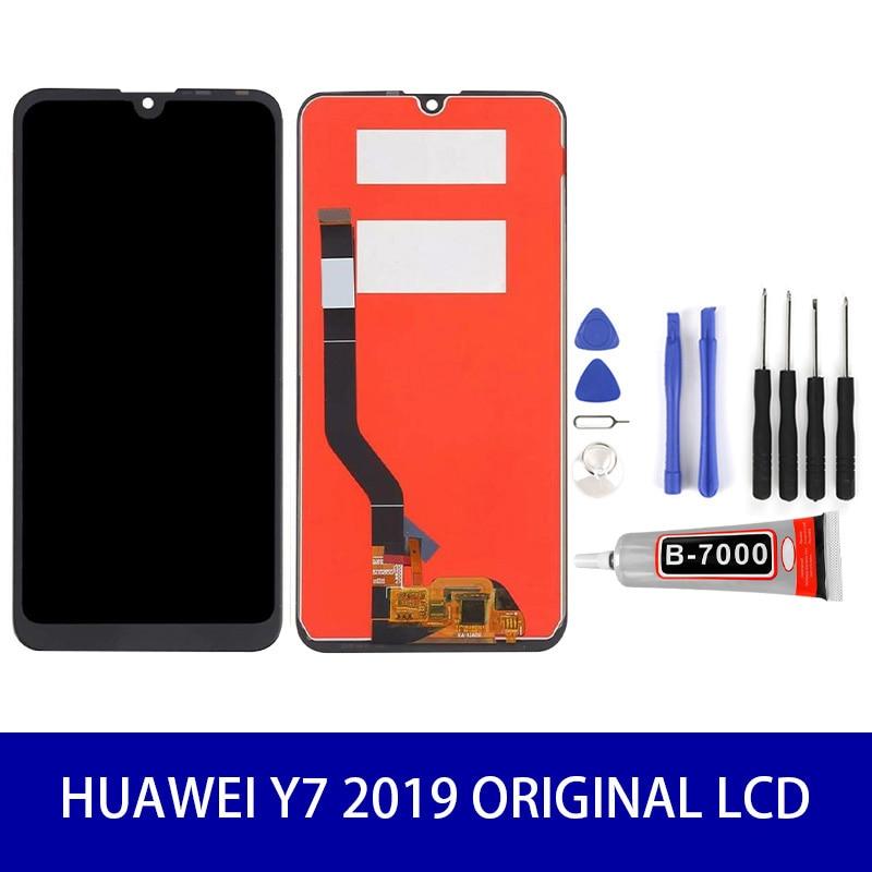 Original quality LCD For Huawei Y7 2019 DUB LX3 DUB L23 DUB LX1 Display Touch Screen Panel Digitizer+Tools Mobile Screen|Экраны для мобильных телефонов|   | АлиЭкспресс