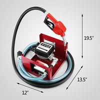 VEVO Pump Bio Oil 220V Electric Fuel Self Priming Transfer Pump Bio Oil Diesel Kerosene 40L/Min