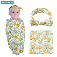 Medoboo Envelope for Discharge Baby Sleeping Bag Swaddle Blankets Diaper Cocoon Newborns Maternity Hospital Kit