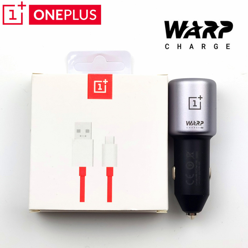 OnePlus Warp Charge 30 Car Charger 30W 5V/6A Dash Charge 6A Usb Type c cable for oneplus 7 7t pro 6t 6 5t 5 3t 3