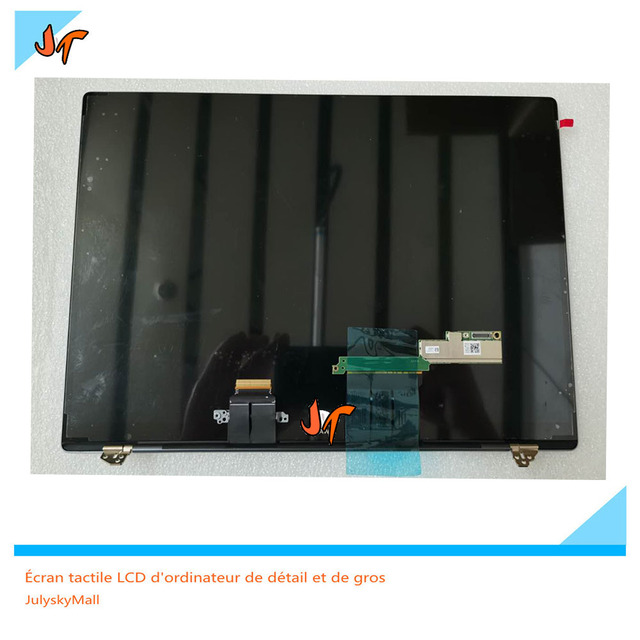 Para huawei matebook x pro MACH W19 w29 13.9 inch tela sensível ao toque lcd monitor 3k tela 3000x2000 substituição de tela inteira superior