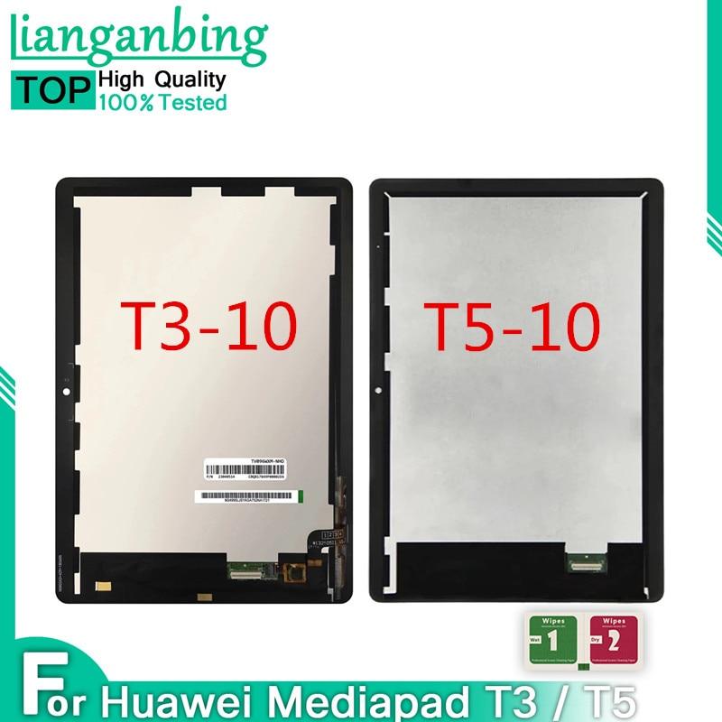 Para Huawei MediaPad T3 T5 10 AGS-L09 AGS-W09 AGS-L03 AGS2-W09 AGS2-L09 pantalla LCD de montaje de pantalla táctil para Huawei Mediapad T5 10
