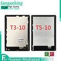 Для Huawei MediaPad T3 T5 10 AGS-L09 AGS-W09 AGS-L03 AGS2-W09 AGS2-L09 ЖК-дисплей с сенсорным экраном в сборе для Huawei Mediapad T5 10