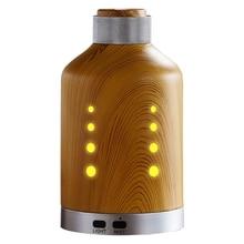 Хит, ультразвуковой увлажнитель воздуха, деревянный цветной светильник, диффузор эфирного масла, домашний очиститель, Ароматический диффузор, анионовый туман, американский штекер
