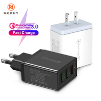 Caricabatterie USB universale 30W quick charge 3.0 per iPhone 11 Pro Max Xs X XR 6s 7 8 Plus caricabatterie rapido Samsung S10 Huawei Xiaomi
