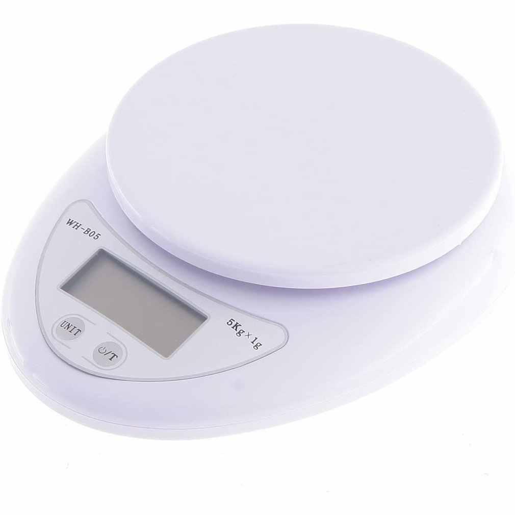 Новинка 5 кг/1 г ЖК портативные мини электронные цифровые весы Карманный чехол для почтовой кухни ювелирные изделия для еды весы для баланса веса Прямая поставка