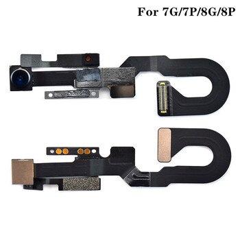 Front Camera Flex Cable for iPhone 7G 7 Plus 8 Plus 5.5'' 8G 8Plus Sensor Proximity  Flash Flex Cable Replacement Parts 5Pcs